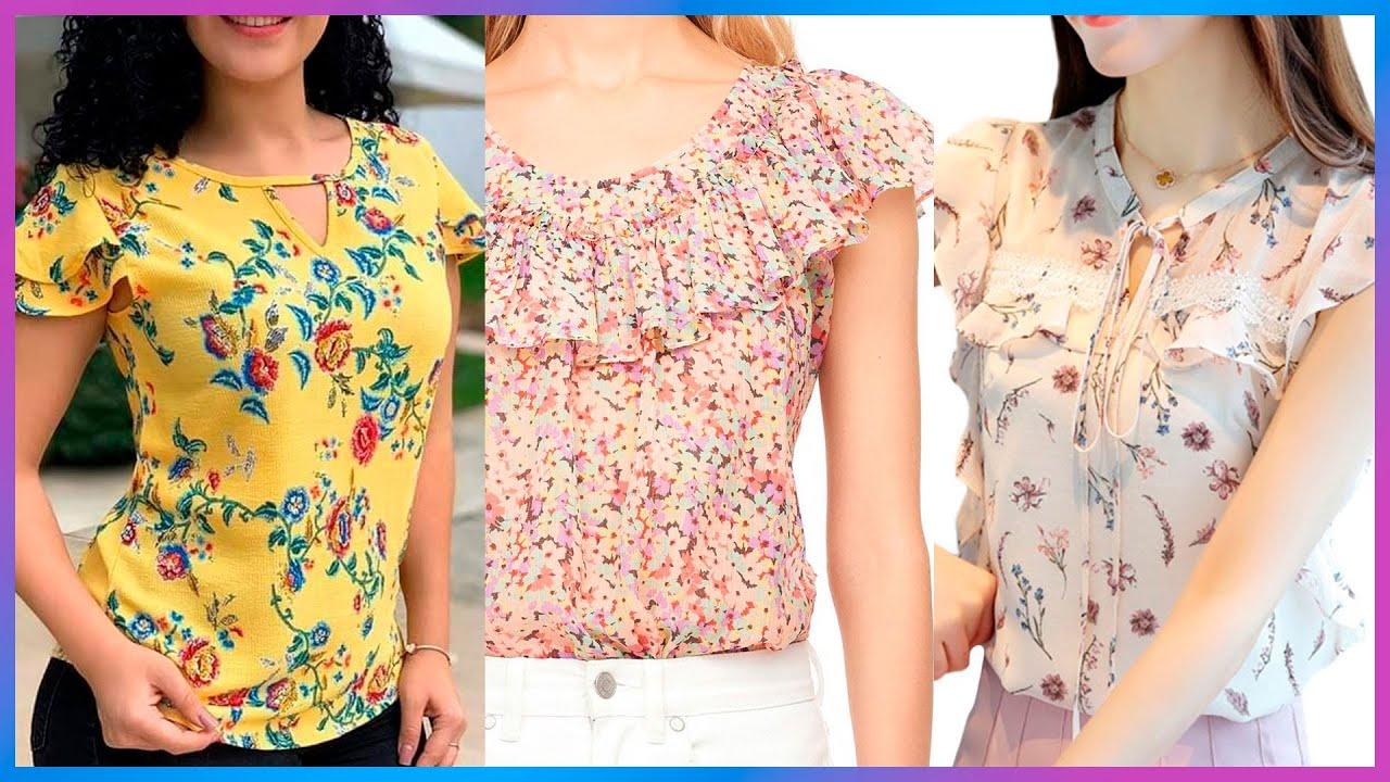 Como Coser una BLUSA HERMOSAS ELEGANTES Y CASUALES DE MODA Y TENDENCIA sewing blouses