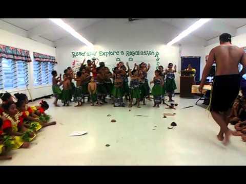 Faleasao Elementary School Thanksgiving pregram - Tokelau (part3/4)