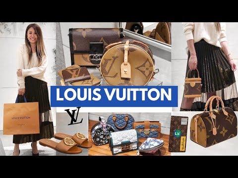 LOUIS VUITTON Shopping Vlog! 🛍 Prices & Mod Shots | Shop with Me!