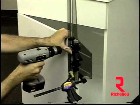 Drilling Jig for Cabinet and Drawer Handles - YouTube