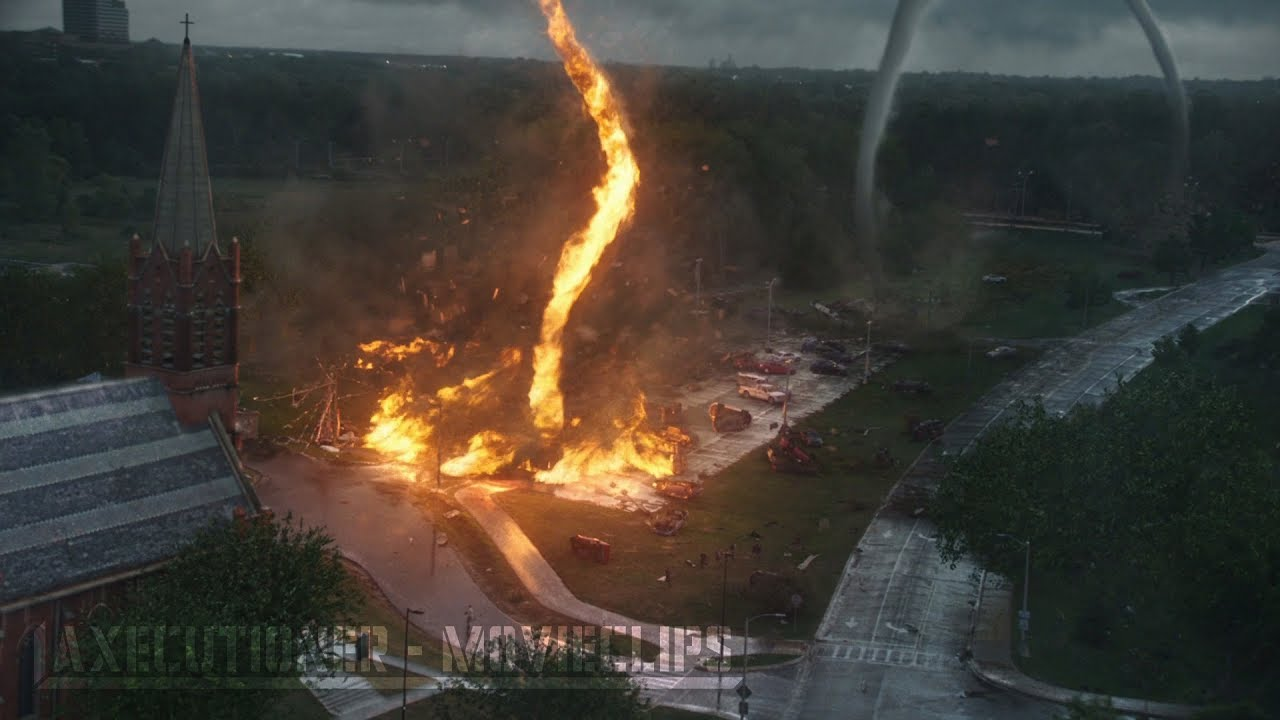 Into The Storm |2014| All tornado Destruction Scenes [Edited]