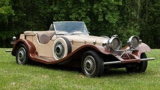 Auction: 1937 Jaguar SS-100 Replica Classic Car