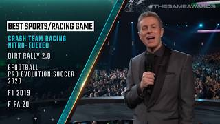 Best Family Game, Sports/Racing Game & Mobile Game - The Game Awards 2019