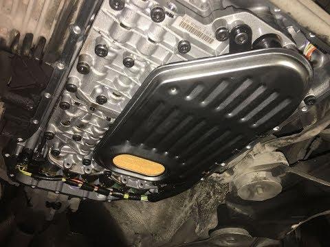 Замена масла в акпп Audi A4 B6 1.8t Q