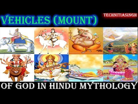 Top 10 most popular vehicle of God and goddess in Hindu mythology