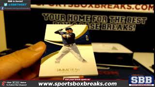 2018 Panini Immaculate Baseball Personal Box Aaron F 81818