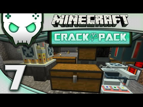 Minecraft Modded Crack Pack Ep 7: Chemicals Mixup