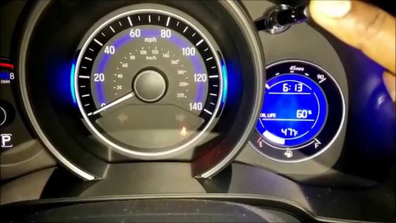 Amazing 2015 Honda Fit Oil Maintenance Minder Reset Procedure (How To Video)    YouTube