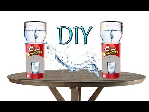 How To Make Working Water Dispenser Diy Desk Cooler