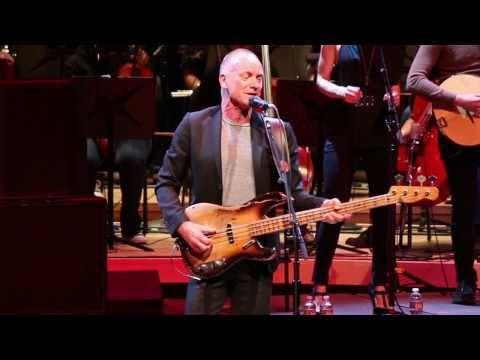 Sting Rocks Strathmore for Duke Ellington School