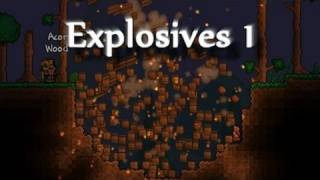 Terraria - Explosives the basics - with a big explosion