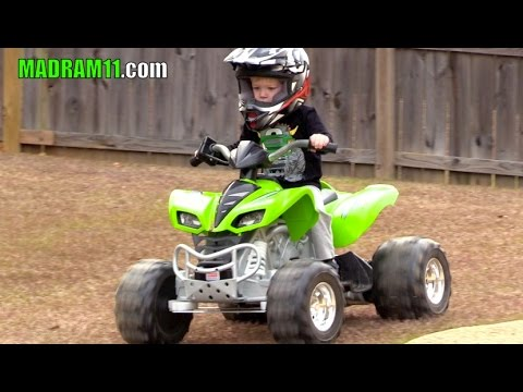 UPGRADED GEARS AND MOTORS IN 24 VOLT POWER WHEELS