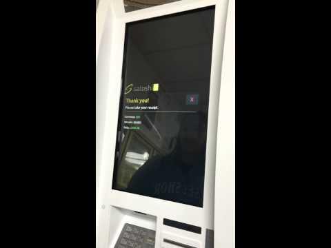 Genesis Satoshi1 Bitcoin ATM