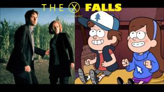 Gravity Falls and The X Files Theme song mash up