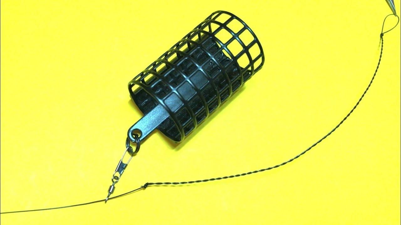 Фидерная оснастка running feeder rig. Фидер для начинающих. Лайфхаки и самоделки для рыбалки