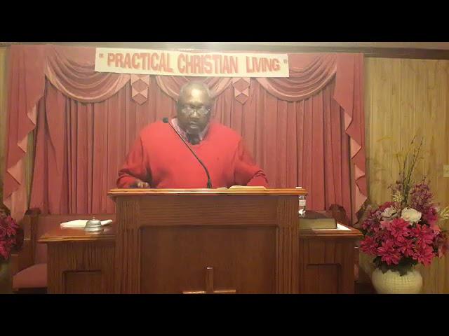 December 27, 2020 Sermon by Bro John T. Somerville