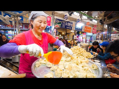Korean Street Food - NETFLIX SEOUL - I Ate Everything From the Episode! | Gwangjang Market!