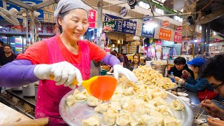 Download lagu Korean Street Food NETFLIX SEOUL I Ate Everything From the Episode Gwangjang Market MP3