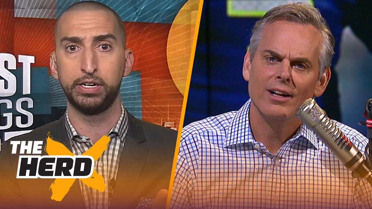 Nick Wright on who's to blame for Seahawks' struggles, Talks Brady-Belichick | NFL | THE HERD