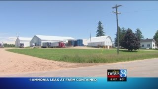 Kent City farm's ammonia leak contained