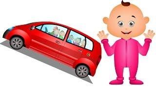Five Little Babies Visiting Vehicle Showroom - Five Little Babies Collection - JamJammies Kids Songs
