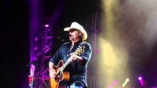 Should've Been a Cowboy. Toby Keith. St Louis. 9-5-15