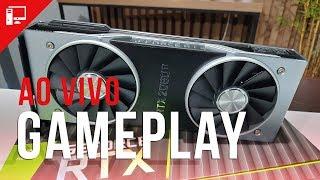 GeForce RTX 2080 Ti: Gameplay AO VIVO e impressões