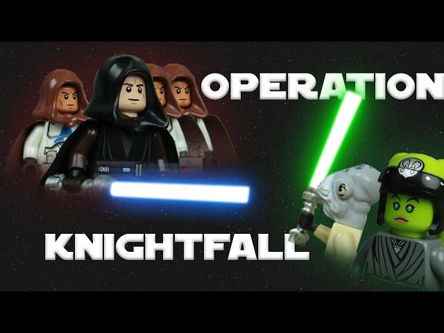 The great Jedi purge II Star Wars Brickfilm