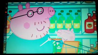 Peppa Pig Full Episodes Supermarket he Have a chocolate Cake