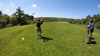 Golfing at Taiyo, Okinawa Japan