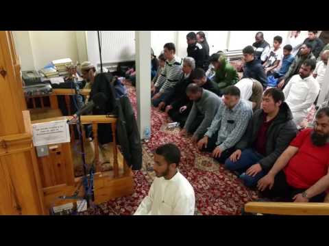 Qyam prayers from the University of Newcastle mosque