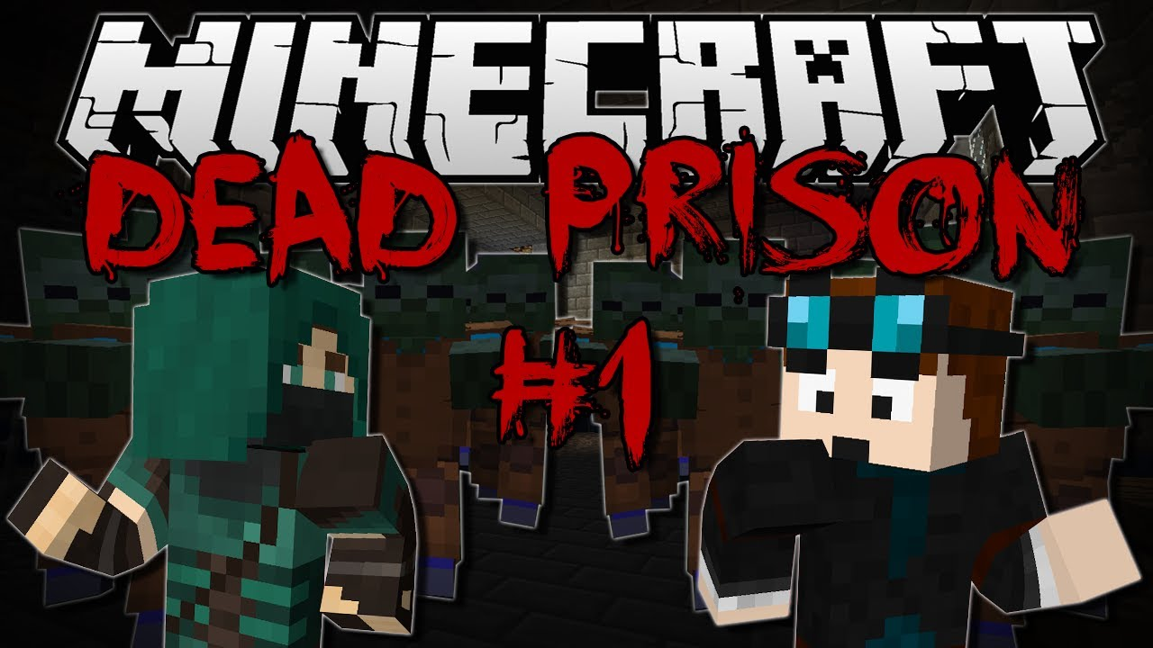 minecraft dead prison w thnxcya adventure map 1 youtube