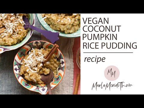 Pumkin Coconut Rice Pudding