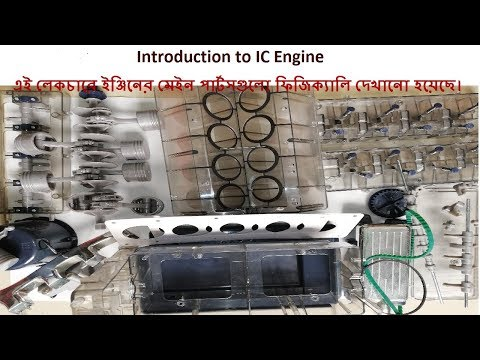 Introduction to Internal Combustion Engine Lecture-01 (Bangla)