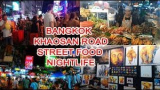 THAİ NIGHTLİFE BANGKOK - KHAO SAN ROAD