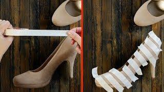 Tutti dovrebbero sapere questi 11 trucchi con le scarpe. Soprattutto il 3°!