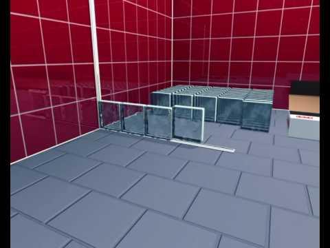 Glasbausteine duschwand  Duschwand aus Glassteinen bauen | ToolTown Heimwerken - YouTube