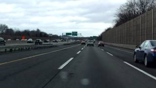 new jersey turnpike exits 9 to 11 northbound truck lanes