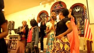All For One Choir -Singing In Church ( R.M.S Videos )