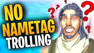 TRICKING My TEAMMATES Into Thinking I'm An ENEMY! | Fortnite TROLLING