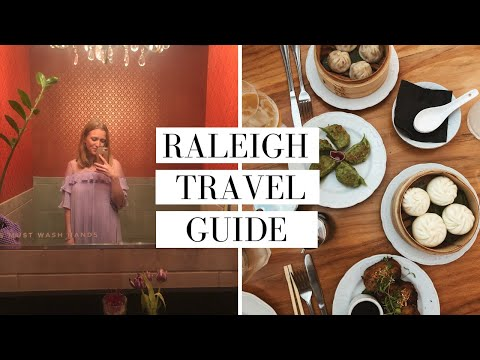 Travel With Me To Raleigh, North Carolina | Travel Vlog