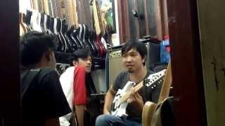 Gitaris metal tercepat di Indonesia