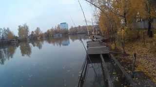 Рыбалка у Бородина. Ловля щуки. 15.10.2014.
