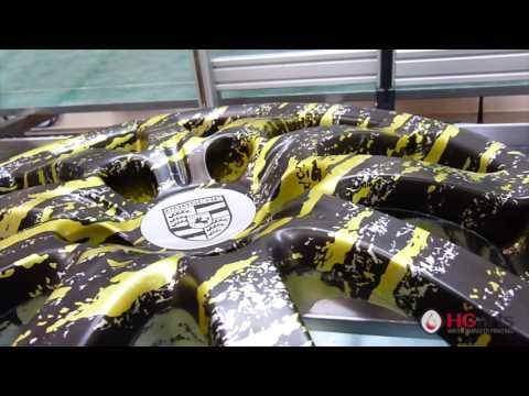 HG Arts | Silver Splatter (HGA - US02) - Water Transfer Printing | Hydrographics