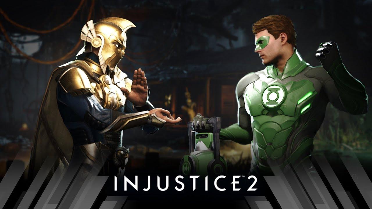 Injustice 2 - Doctor Fate Vs Green Lantern (Very Hard)