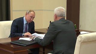 Владимир Путин встретился с главой одной из крупнейших нефтяных компаний страны.