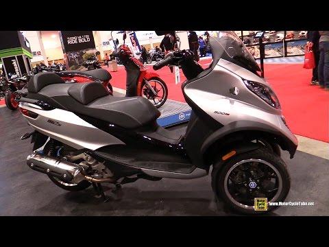 2017 Piaggio MP3 500 - Walkaround - 2017 Toronto Motorcycle Show