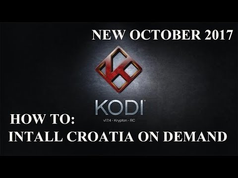 Update ! (New video check link in description) how to install croatia on demand