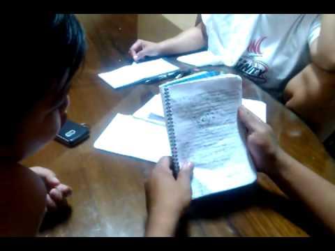 Jaymark general science notebook