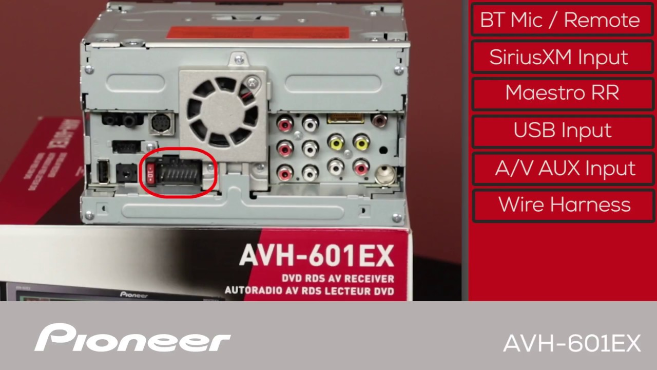 hight resolution of avh 601ex what s in the box